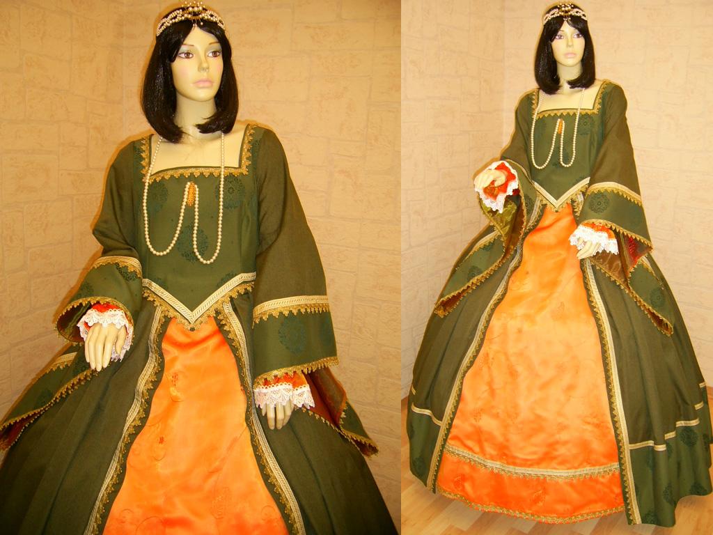 Средневековая Одежда Женщин